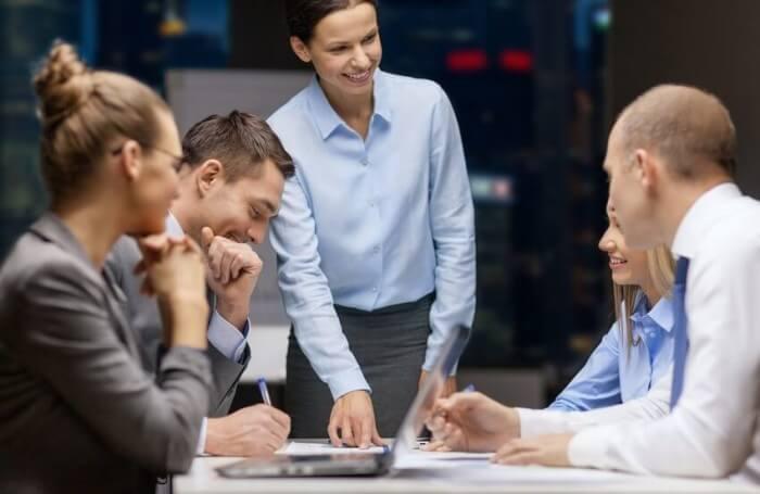 פגישה של הפרויקט לחונכות עסקית