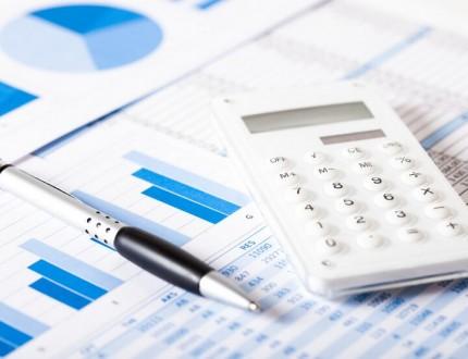 מחשבון וגרפים המשמשים לחישוב תמחור של מוצרים