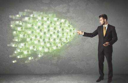 איש עסקים בתהליך של הקמת עסק